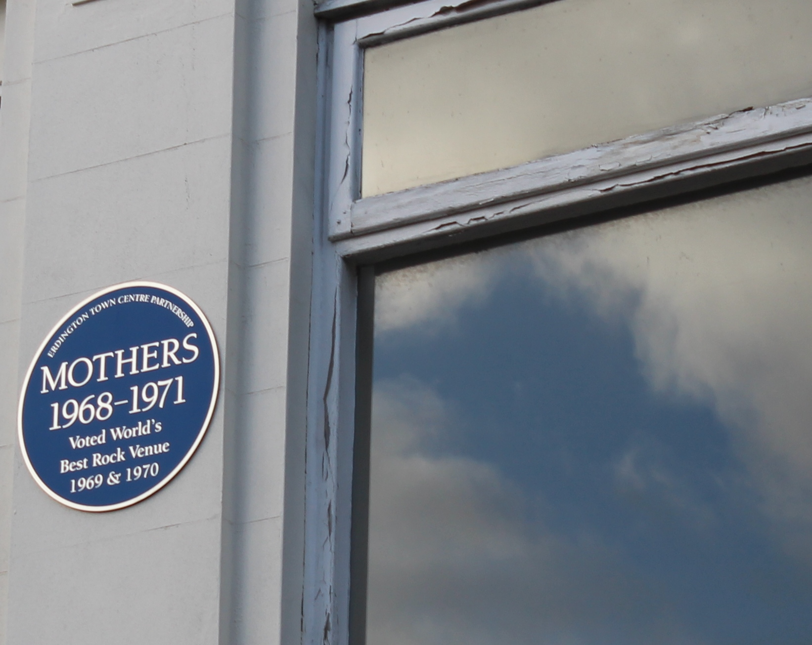 Mothers 2 blue plaque inset